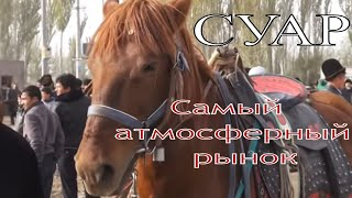 Воскресный животноводческий рынок в Кашгаре Китай
