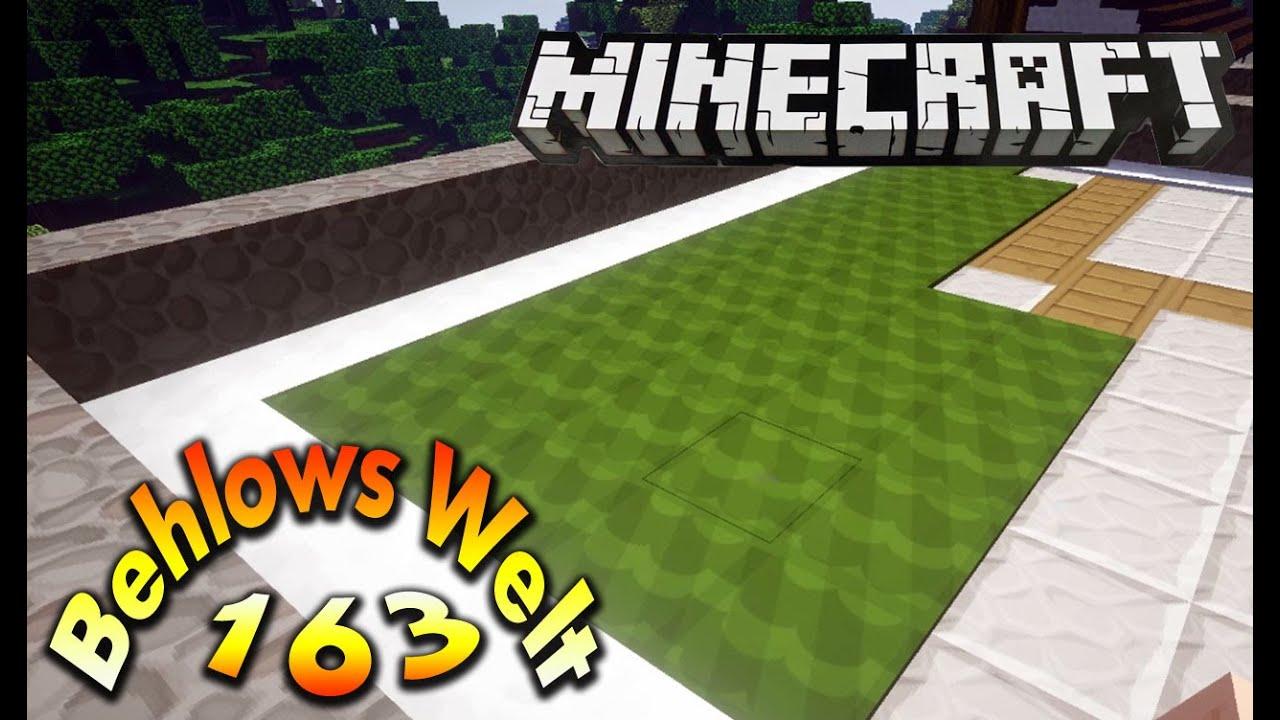 Grüner teppich  Minecraft LP - Behlows Welt 163 - Grüner Teppich soll es sein ...