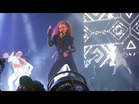 Janet Jackson - BurnitUP / Nasty - Columbia - State of the World Tour