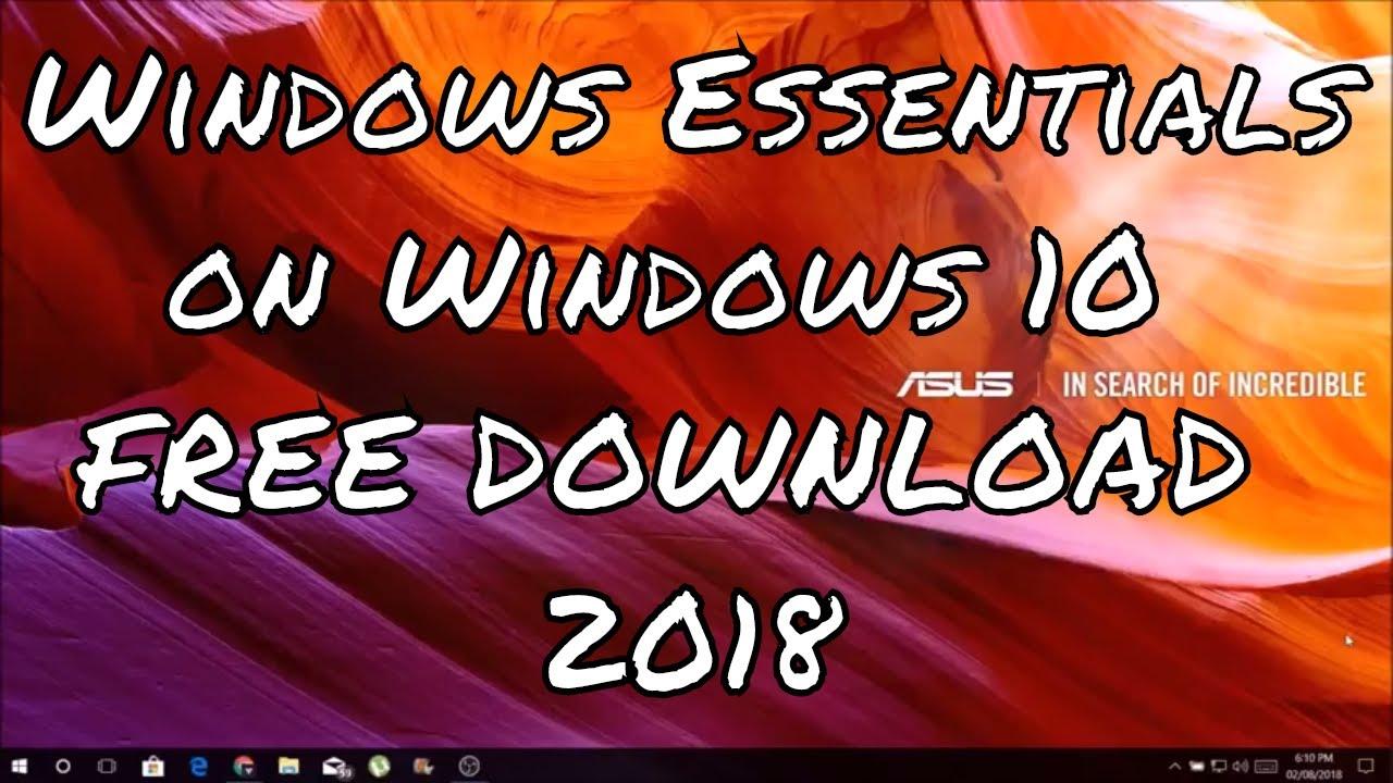 windows essentials movie maker free download