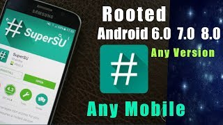 How To Root Samsung Oppo, Vivo,  Any Android 6.0, 7.0, 8.0  2018!