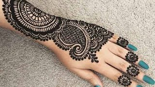 Simple and easy mehndi designs 2018-19