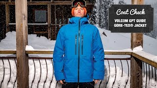 The Coat Check 2019—The Volcom GPT Guide GORE-TEX Jacket