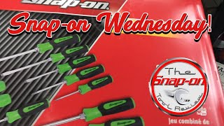 SNAP-ON WEDNESDAY - That's A Lot Of Screwdrivers Bro!