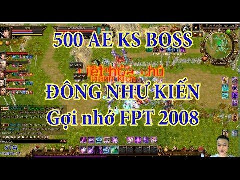 Săn Boss Thảo Nguyên TLBB - Gợi Nhớ Về Thiên Long Bát Bộ FPT 2008