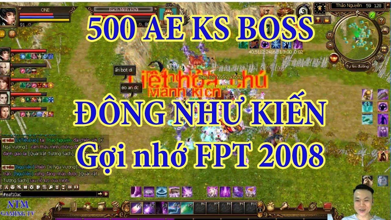 Săn Boss Thảo Nguyên TLBB – Gợi Nhớ Về Thiên Long Bát Bộ FPT 2008