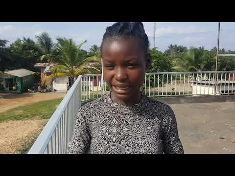 Survey in the rehab Cooper farm community, Monrovia Liberia.