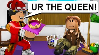 HATED CHILD BECAME THE QUEEN! (ROBLOX BROOKHAVEN RP)