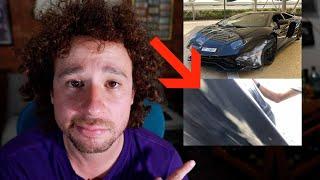Choqué un Lamborghini y tuve que pagar muchísimo dinero 😢