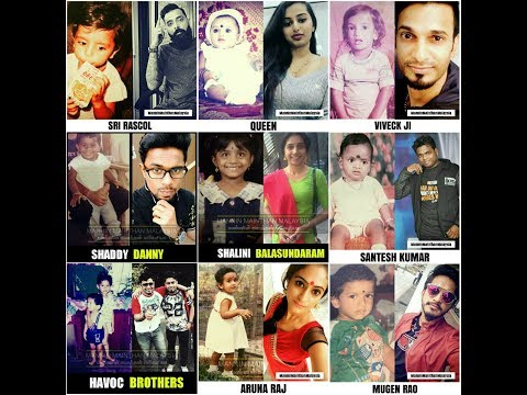 Malaysia Celebrities' Childhood Picture.