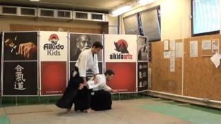 shomen uchi ikkyo ura [TUTORIAL] Aikido basic technique