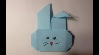 How to make a paper Rabbit Head?