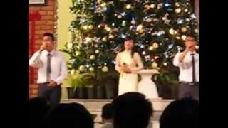 Truyền giảng giáng sinh tại HT Hòa Mỹ - Đà Nẵng 2012