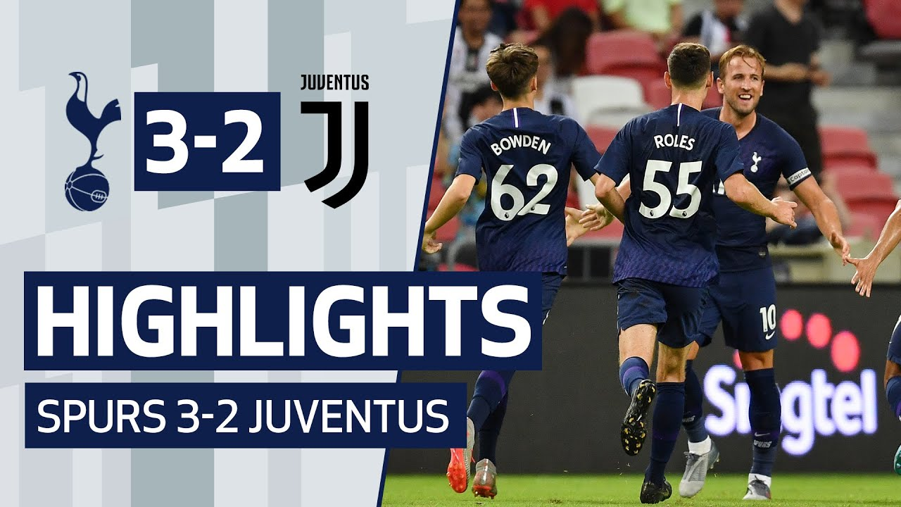 HARRY KANE SCORES FROM THE HALFWAY LINE | HIGHLIGHTS | JUVENTUS 2-3 SPURS