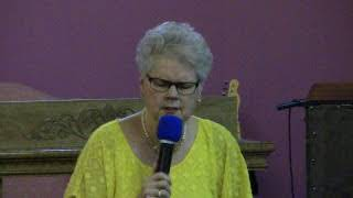 Shirley Kimzey Touch Through Me Holy Spirit August 30, 2017