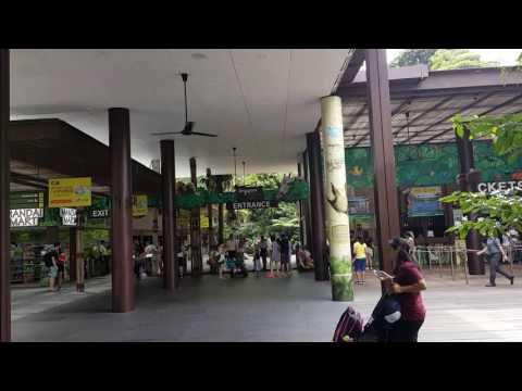 Singapore Zoological Gardens @ Main Entrance