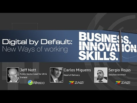 Digital by Default: New ways of working