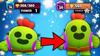 LEVEL 1 SPIKE VS MAX LEVEL SPIKE! : the most satisfying video in Brawl Stars