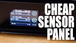 EVERY PC should have one of these! How to make a sensor panel!