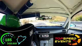 VLN1 24 03 2018 - Marc Roitzheim - BMW E90 325i V4 | Ahrtal-Motorsport Onboard