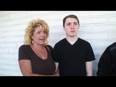 Video teen cooper van huizen released from prison family