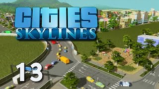 Cities Skylines #13 - Kinder an der Autobahn [Gameplay German Deutsch] [Let