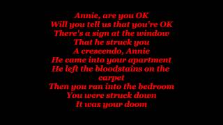 Alien Ant Farm Smooth Criminal Lyrics