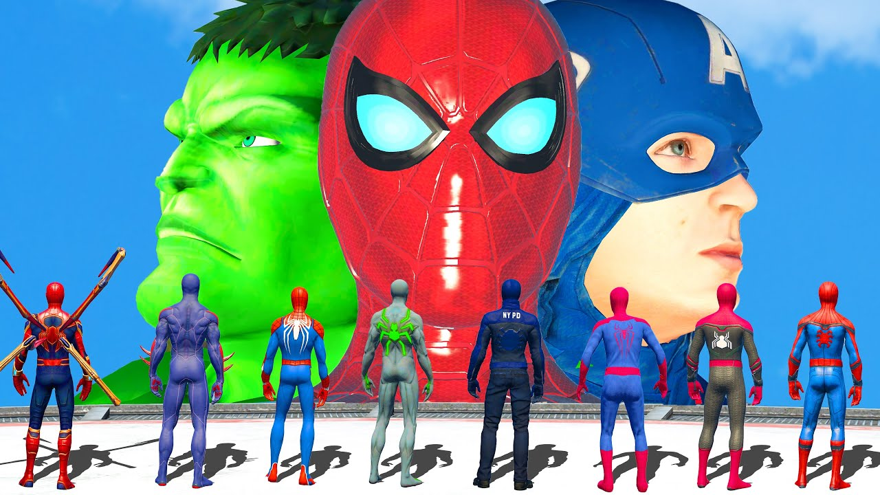 Download The Avengers Marvel Comic VS Team Spider Man | Civil War Epic Battle