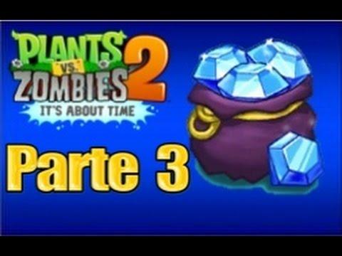 Plants vs Zombies 2 - Parte 3 Atraco de Joyas - Español
