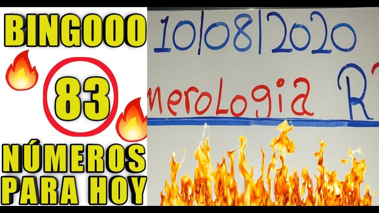 NÚMEROS PARA HOY 10/08/20 DE AGOSTO PARA TODAS LAS LOTERIA..!!!