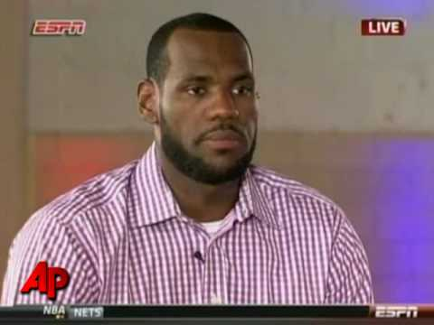 LeBron James Makes His Decision: Miami