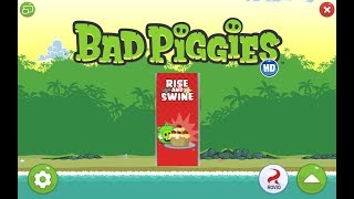 Bad Piggies. Rise and Swine (level 2-19) Hidden Skulls Прохождение от SAFa
