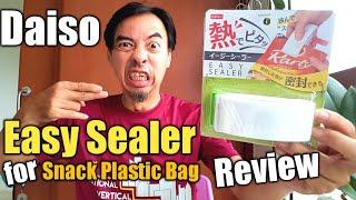 Daiso Japan Easy Sealer for Sn…