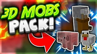 3D MOBS PACK!! - Minecraft Pocket Edition - Resource Pack