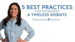 5 Best Practices for Designing a Timeless Website