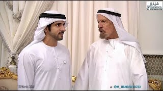 Sheikh Hamdan (فزاع Fazza) offers condolences to Al Suwaidi family