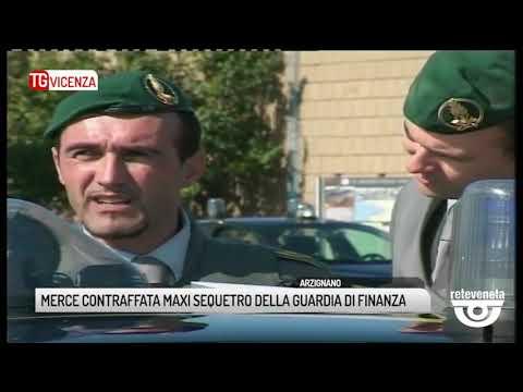 TG VICENZA (23/04/2019) - MERCE CONTRAFFATA MAXI S...