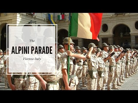 Alpini of Vicenza Parade