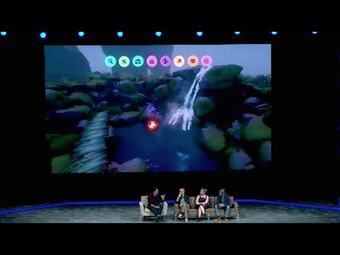 Dreams Creation Gameplay Demo Panel - PSX 2017