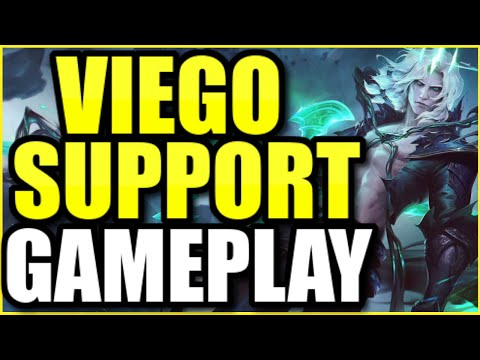 "VIEGO SUPPORT FULL GAMEPLAY! | FULL MATCH OF THE *NEW* BROKEN CHAMPION ""VIEGO"" THE RUINED KING"