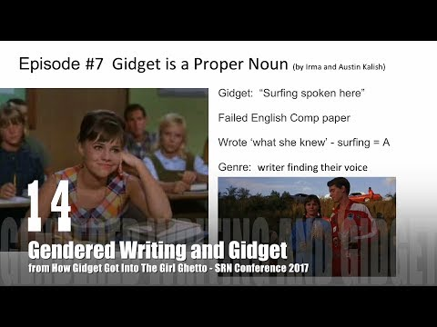 14 Gendered Writing and Gidget from How Gidget Got Into the Girl Ghetto with Dr. Rosanne Welch