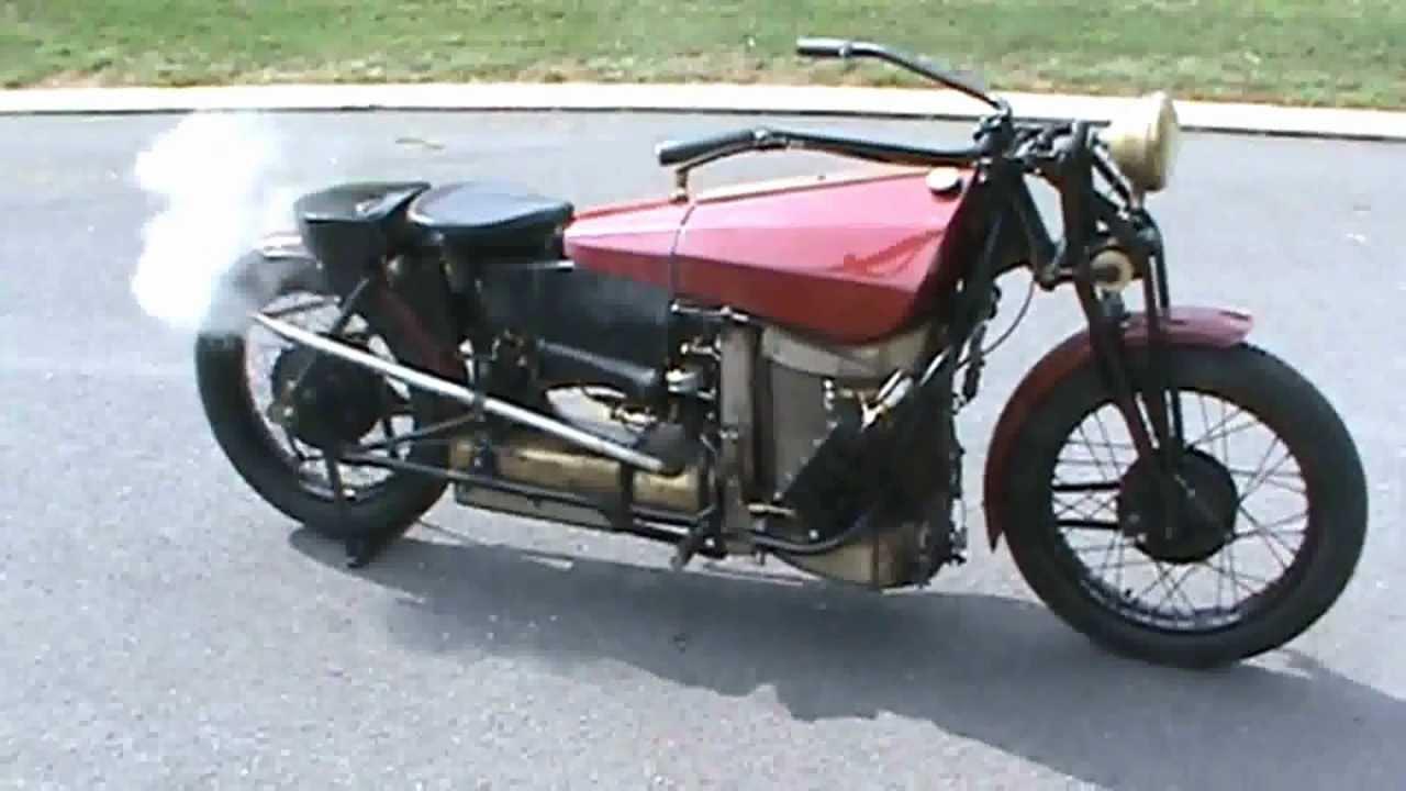 Stanley Steamer Motorcycle - amazing machine !!