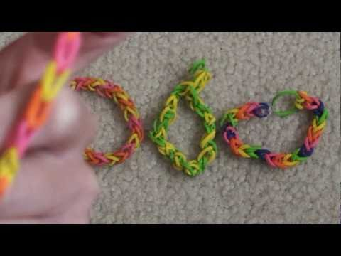 Lesson 1 How To Make A Quot Single Quot Rubber Band Bracelet