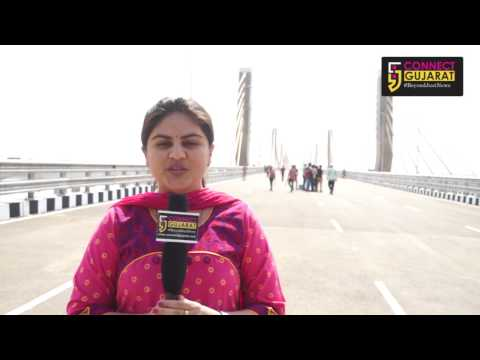 Ground Reporting from New Cable Bridge Bharuch