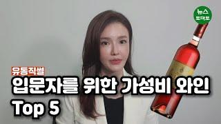 [김기자의 유통직썰]혼술러를 위한 가성비 와인 Top5