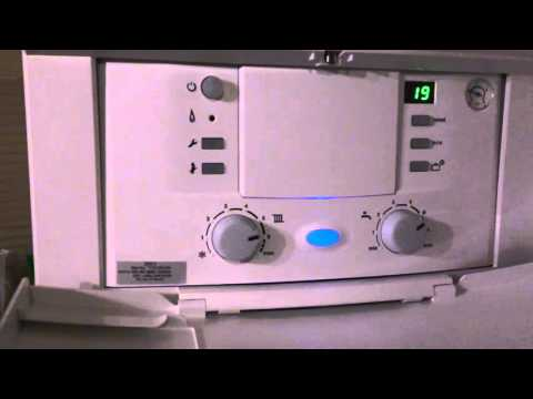 How to fix the flashing EA fault on boiler