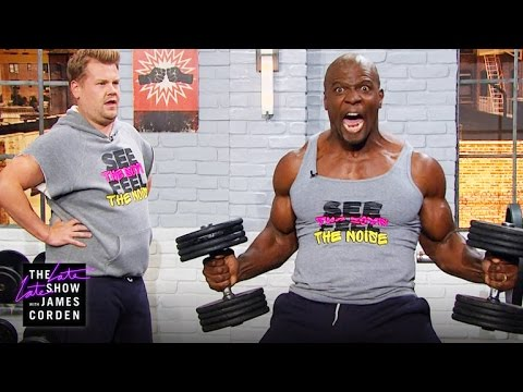 Lifting and Grunting w Terry Crews