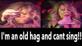 MARIAH CAREY IS AN OLD HAG AND CANT SING ANYMORE 2017!!!!!!