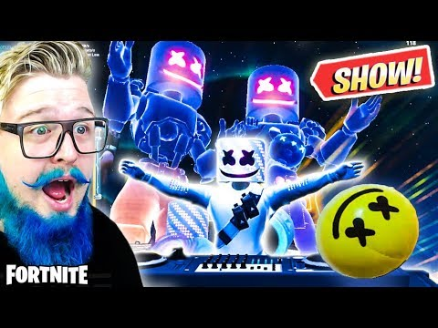 ASSISTI AO SHOW DO MARSHMELLO NO FORTNITE *MELHOR EVENTO* - FORTNITE thumbnail
