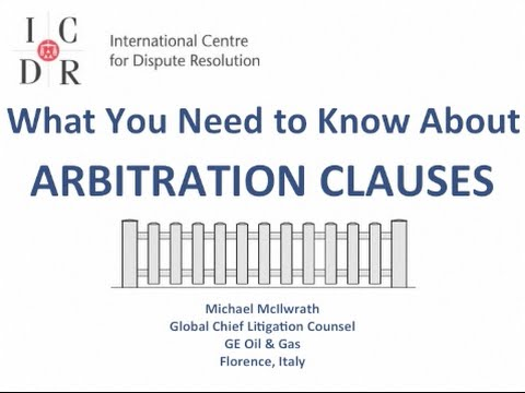 What You Need to Know About Arbitration Clauses
